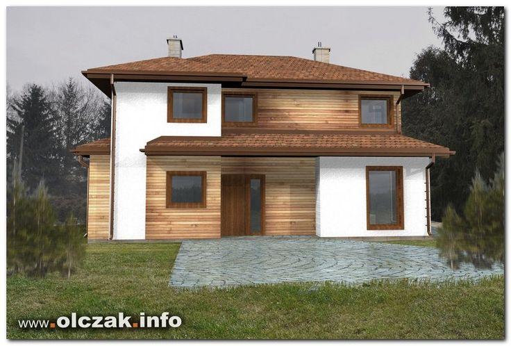 Architekt Maciej Olczak - projekt domu drewnianego