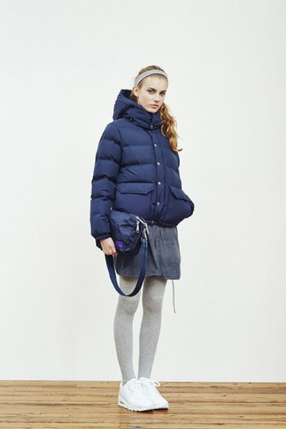 Image of THE NORTH FACE PURPLE LABEL 2014 Fall/Winter Lookbook. i want that bag.