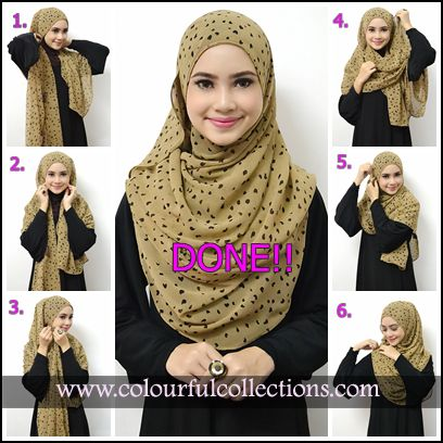 Shawl tutorial..simple steps