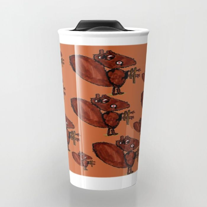Castors Deavers Travel Mug