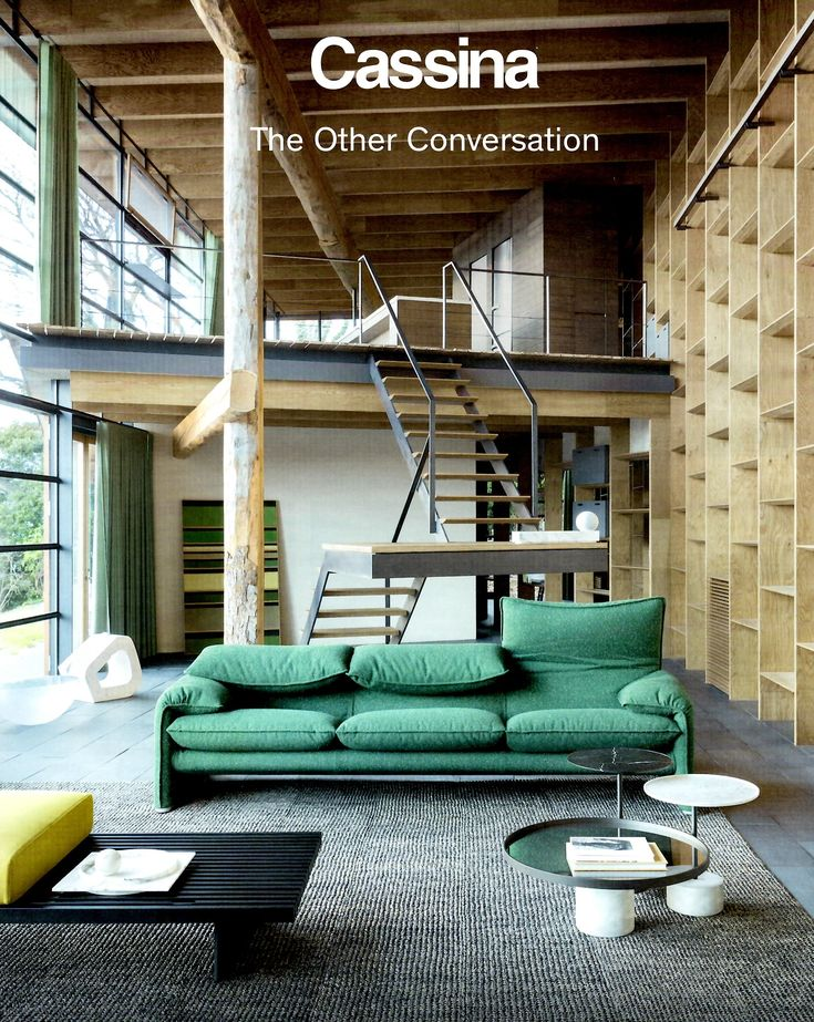 Welcome to the the other conversation cassina continues the intriguing dialogue between architecture and design in its new adv campaign section