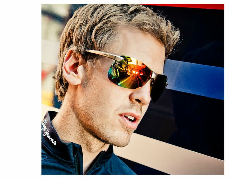 Polycarbonate lenses are extremely scratchproof and possess a long service life. An additional oleophobic coating makes the lenses used in Red Bull Racing Eyewear sports glasses particularly water, dirt and oil repellent. | #mido