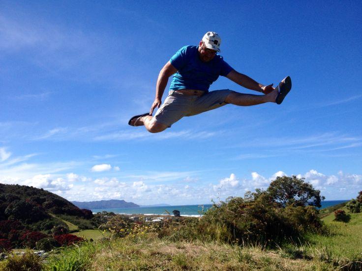 Bowentown, NZ jump