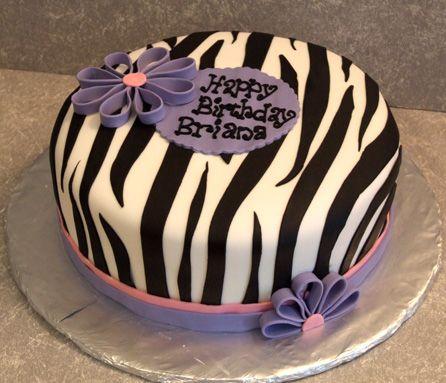 17 Best ideas about Zebra Print Cakes on Pinterest Girl ...