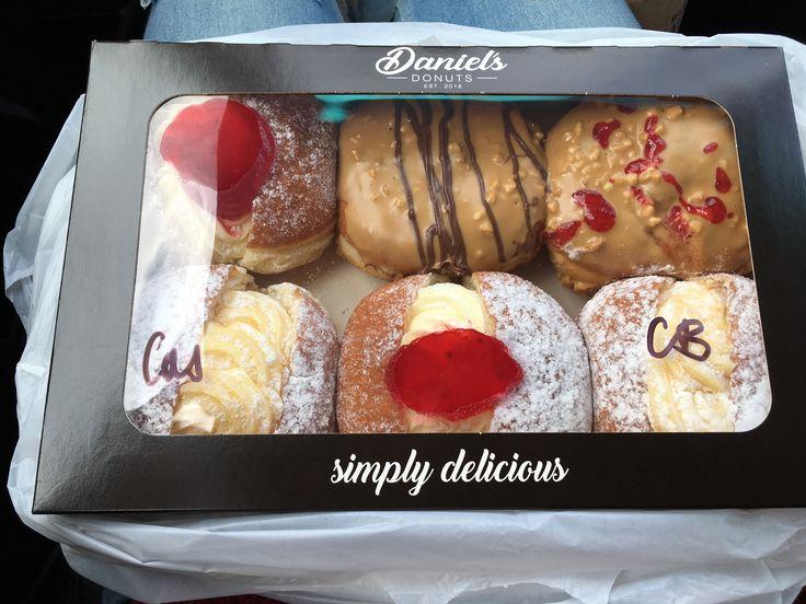 Yummy donuts!  #Daniel's Donuts!