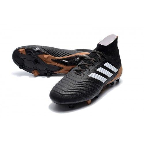 super popular bacb1 5b8b8 ... adidas predator 18.1 fg strikket karboneret hvid fodboldstøvler