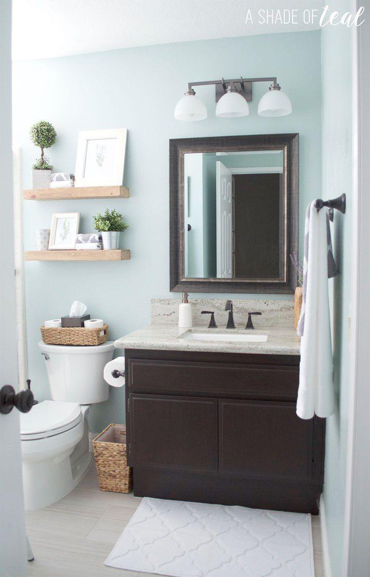 Los mejores colores para un cuarto de baño pequeño con ...