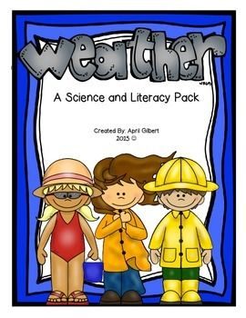 This integrated science/ELA pack contains activities and printables designed to teach first and second graders about types of weather and weather instruments. It includes: 1. ''Weather'' informational mini-reader 2. ''Weather'' graphic organizer 3. Weather calendar 4.
