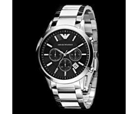 New Armani AR2434 - Men's Fashion Accessories @ http://www.designerposhwatches.co.uk/product/emporio-armani-ar2434-mens-classic-chronograph-watch
