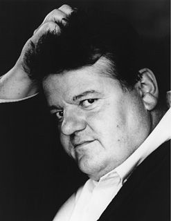 Robbie Coltrane.  He was fantastic in 'Cracker' not to mention Harry Potter.