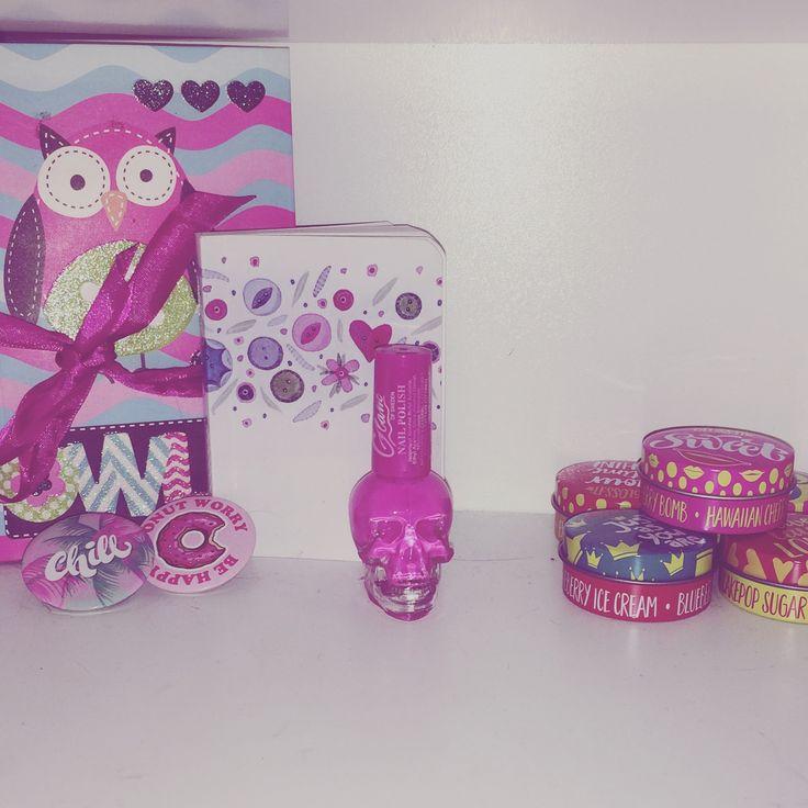 Pink theme Room decor