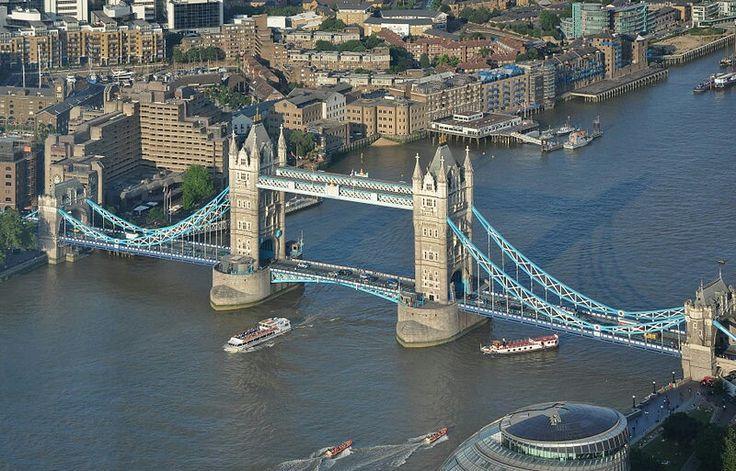 Tower Bridge - 213 feet high - completed 1894