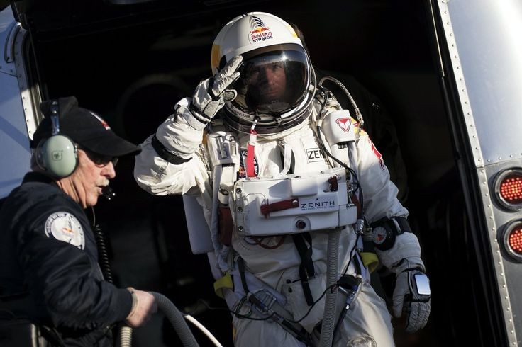 Red Bull Stratos from the Official website of Red Bull GmbH