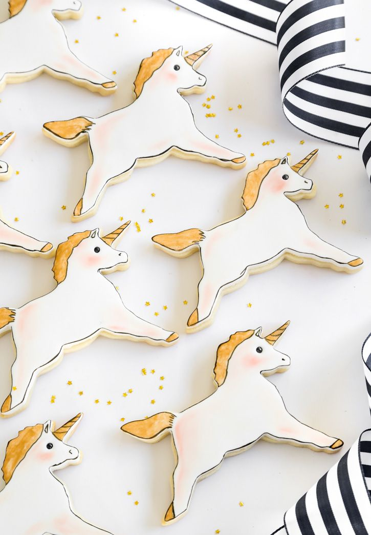 Bake This, Wear That! Unicorn Cookies Edition | Sprinkle Bakes