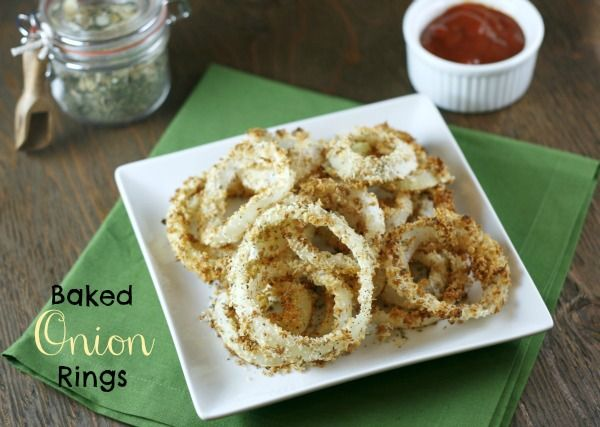 how to make baked onion rings