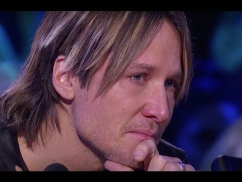 So powerful! ~ Keith Urban Falling A Part on Kelly Clarkson's Emotional Performance On Idol.