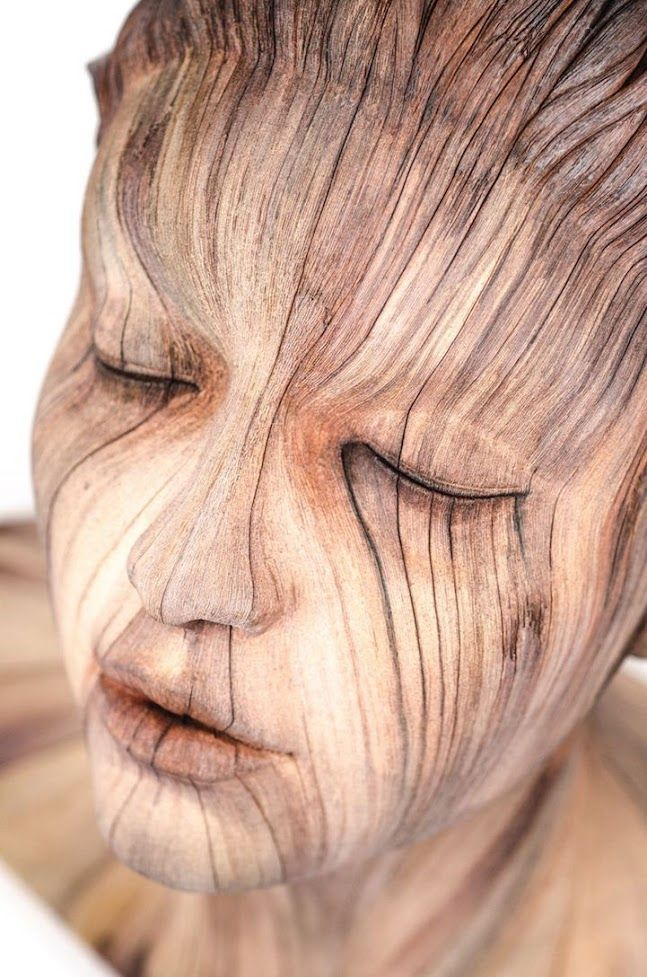 Sculptor Expertly Fools the Eye with Surreal Ceramics That Look Like Wood