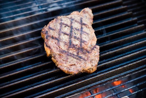 The perfect grilled ribeye steak. This was the first time I've ever ...
