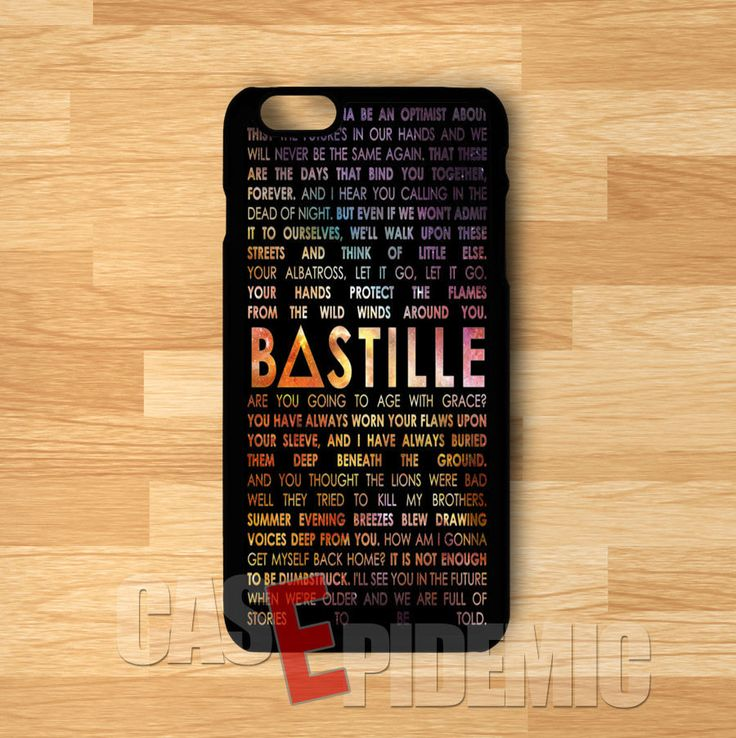 Case Design 4s phone case : Band Bastille lyric galaxy -wid for iPhone 4/4S/5/5S/5C/6/ 6+,samsung ...