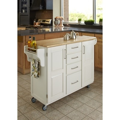 kitchen cart island white mobile island cabin in the woods 3320