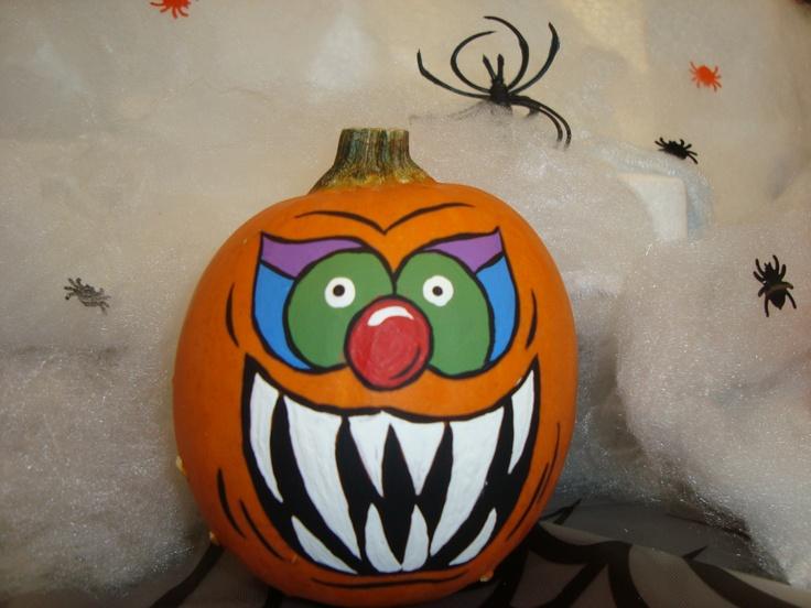 mini painted pumpkin halloween pinterest pumpkins minis and painted pumpkins. Black Bedroom Furniture Sets. Home Design Ideas
