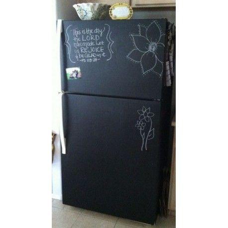 1000 id es sur le th me peindre le r frig rateur sur. Black Bedroom Furniture Sets. Home Design Ideas