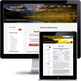 Skills You Need website built with PHP/HTML, JQuery using responsive web design.