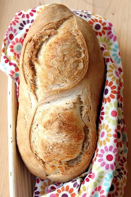 Pane al farro con prefermento
