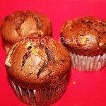 """Muffin """"Alma de Chocolate"""" Chocolate con trocitos de chocolate negro y blanco"""