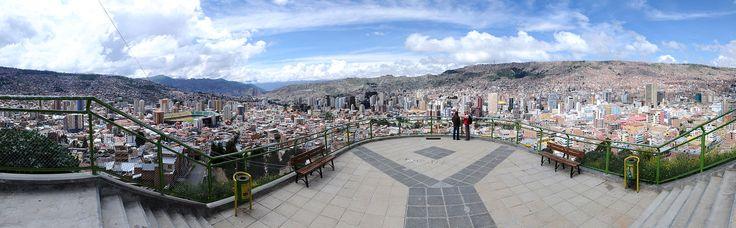 La Paz şehrinden bir görüntü.Teomancimit tarafından yüklendi Oluşturulma tarihi: 24 Şubat 2010