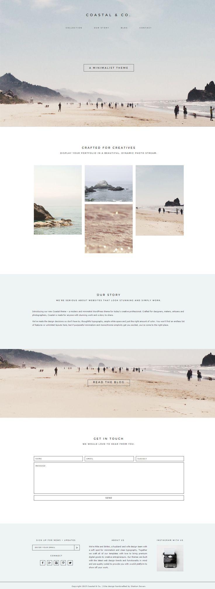 Coastal – Premium Responsive WordPress Creative Th…