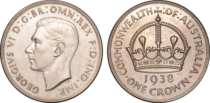 1938 Crown, FDC and extremely rare.  Lot: 1393. Estimate $45,000