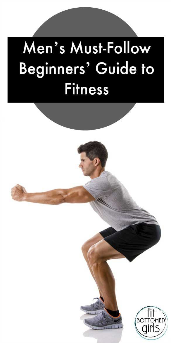 Guys -- use this Beginners' Guide to Fitness if you are just starting a fitness routine!
