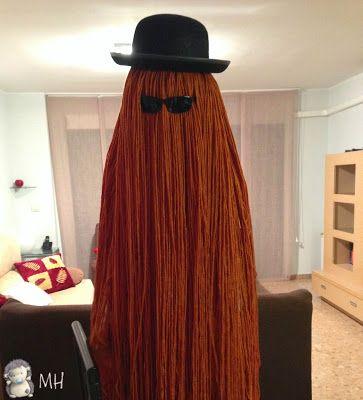 MADRES HIPERACTIVAS: Disfraz de La Familia Addams: Primo Ello