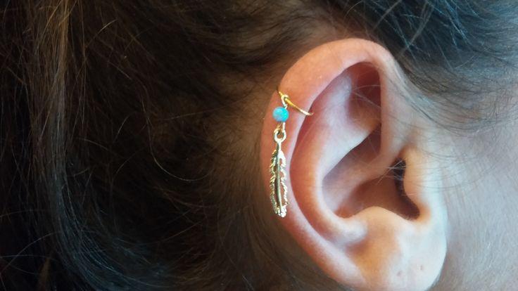 cartilage earring, cartilage ring, cartilage hoop, cartilage piercing ,cartilage jewelry, cartilage earring hoop, helix earring, helix ring by Handmadejewelry2015 on Etsy