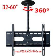 """360 Grado 60-2000mm de Altura Ajustable de 32 """"-60"""" TV De Techo Soporte de Montaje LED LCD Monitor titular Max. VESA 600x400mm Carga 25kgs(China (Mainland))"""