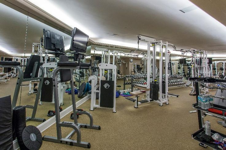 Full Gym Coral Gables Mansion Coral Gables Expensive Houses