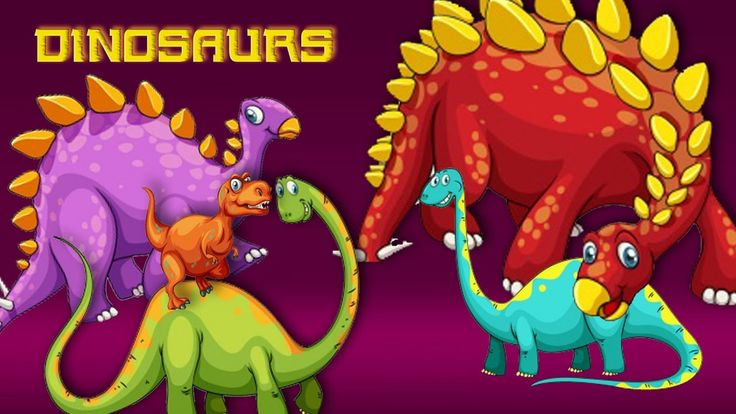 Dinosaurs cartoon | Dinosaurs finger family | Dinosaurs king | Animals f...
