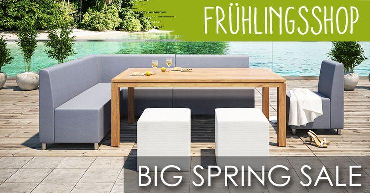 Premium Gartenmöbel -  Bestellen Sie jetzt mit 15% Rabatt!   #Saunaking #Frühlingsshop #Gartenmöbel