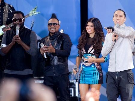 The Black Eyed Peas on Good Morning America