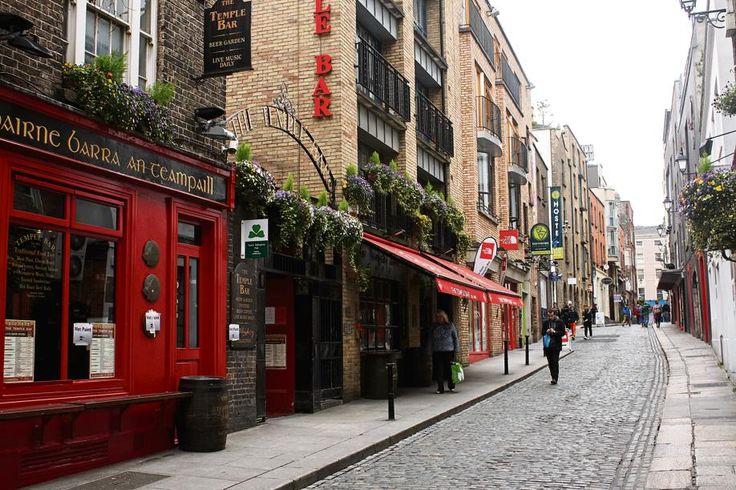 Dublin | Die Temple Bar-gebied is die kulturele hart van Dublin