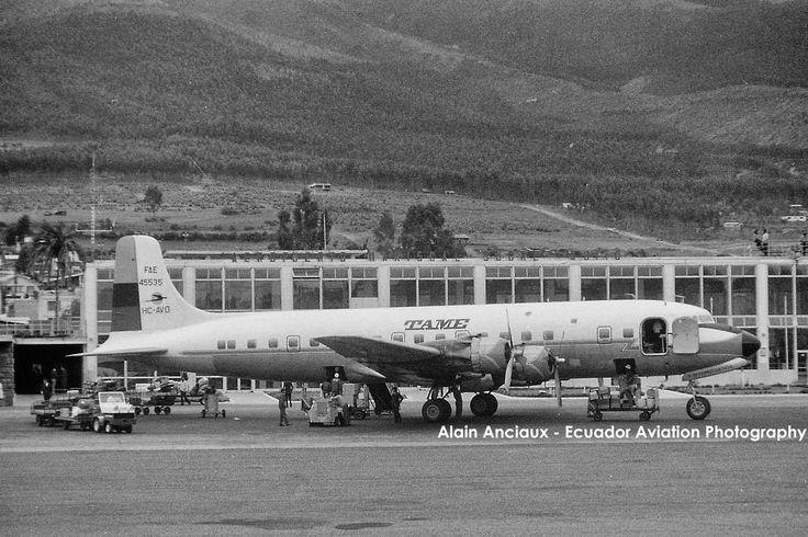 Aerolinea TAME - Antiguo aeropuerto Quito