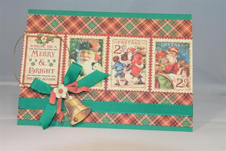 I managed to find a little time to make some Christmas cards with the new Graphic 45 St Nicholas range. Graphic 45 still remains a favourite paper company of mi