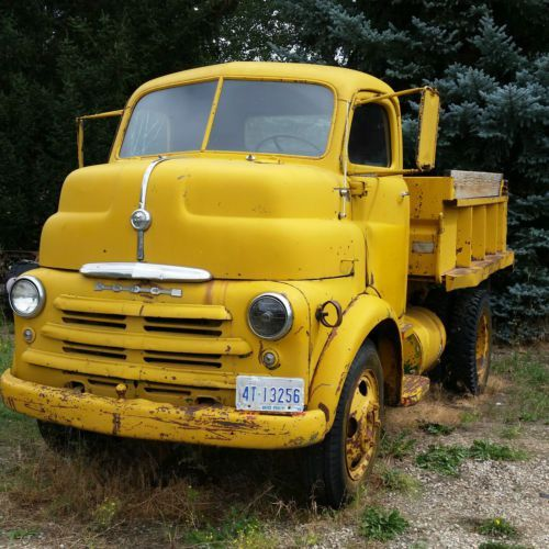 Used 1950 Dodge COE Factory RADIO Power Brakes Flathead