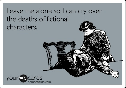 The truth about our relationships with fictional characters.....