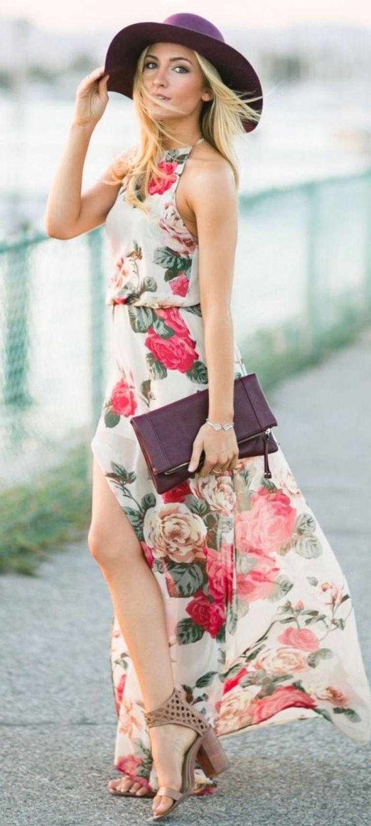 Vestido longo para festa de verão: ver inspirações – Elo7 Blog   – roupas xiks