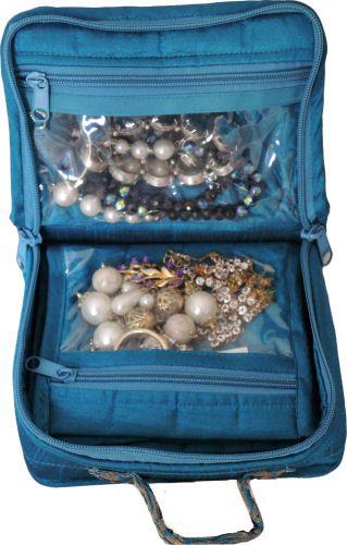 PA10XS - Petite Jewel/Makeup Organiser for travel.