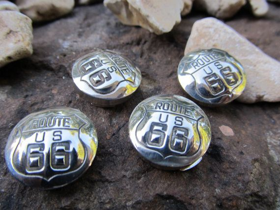 Route 66 Highway Button Covers The Cars Movie by FayWestDesigns, $32.00