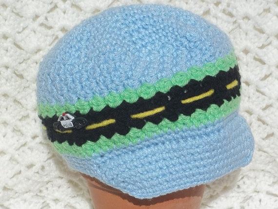 Zooming Newsboy hat by KimberleysCrafts on Etsy, $23.00 (www.facebook.com/kimberleyscrafts) #craftyab