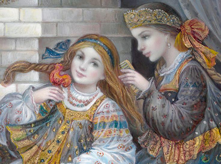 """""""Sisters on the Stove (zoom)"""" par Nadia Strelkina"""
